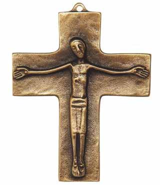 Bronzekreuz, 108, Corpus, h=10,5cm