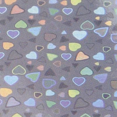 Verzierwachsplatte, Nr. 0708/09, Holografisch, 200 x 100 x 0,5 mm