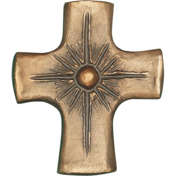 Bronzekreuz, 800841, Perle, 8x7cm