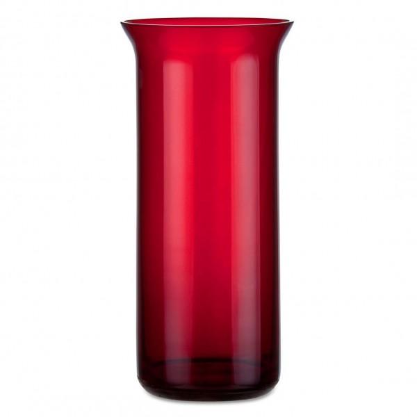 Aeterna Ewiglicht-Glas, ausgestellt, 20 cm, rubin, mit Loch