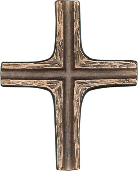 Bronzekreuz, 800515, schlichtes Kreuz, 10x8cm