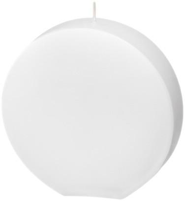 Form 13516, Scheibe klein, 140 x 145 x 37 mm, weiß getaucht