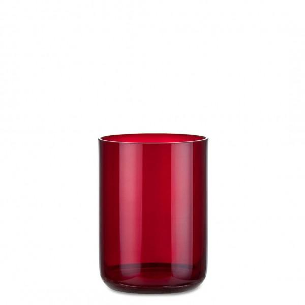 Aeterna Ewiglicht-Glas, gerade, 11 cm, rubin