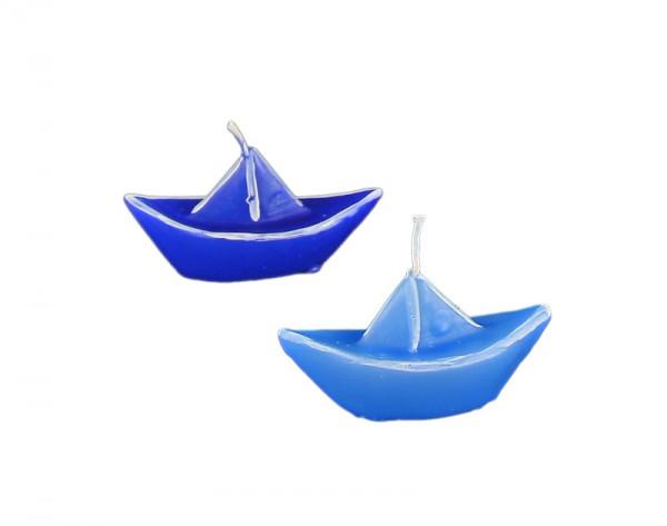 Schwimmkerze, Schiff, 2 Farben sortiert