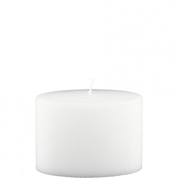 Formkerze Nr. 82, Oval, 100 x 135 x 70, weiß