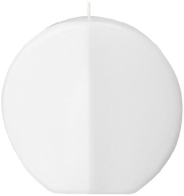 Form 13519, Scheibe abgeflacht, 170 x 175 x 35 mm, weiß getaucht