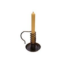 Drehleuchter / Spiralleuchter, schwarz, Höhe ca. 12cm