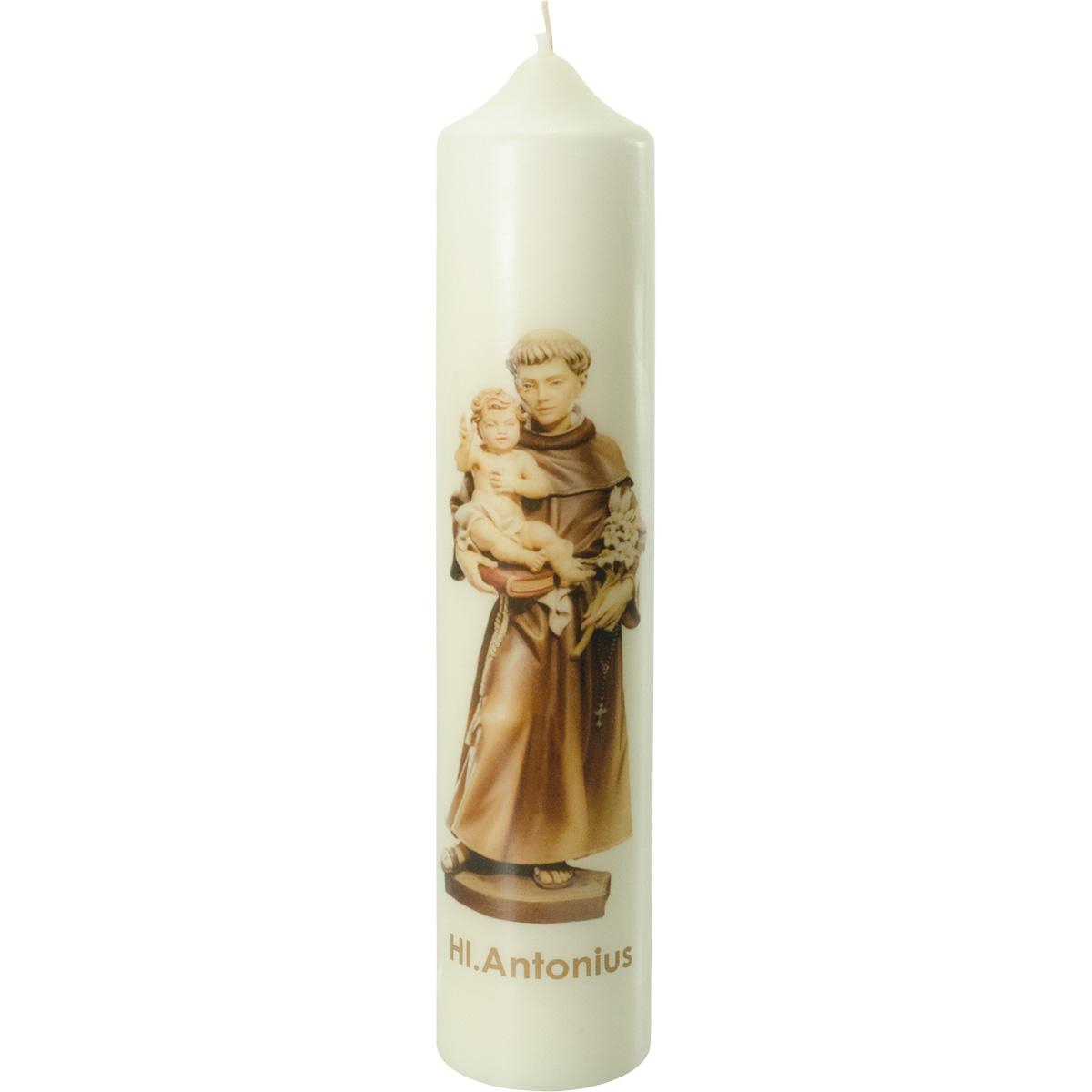 Heiliger Antonius Kerze, #2662, 300x60