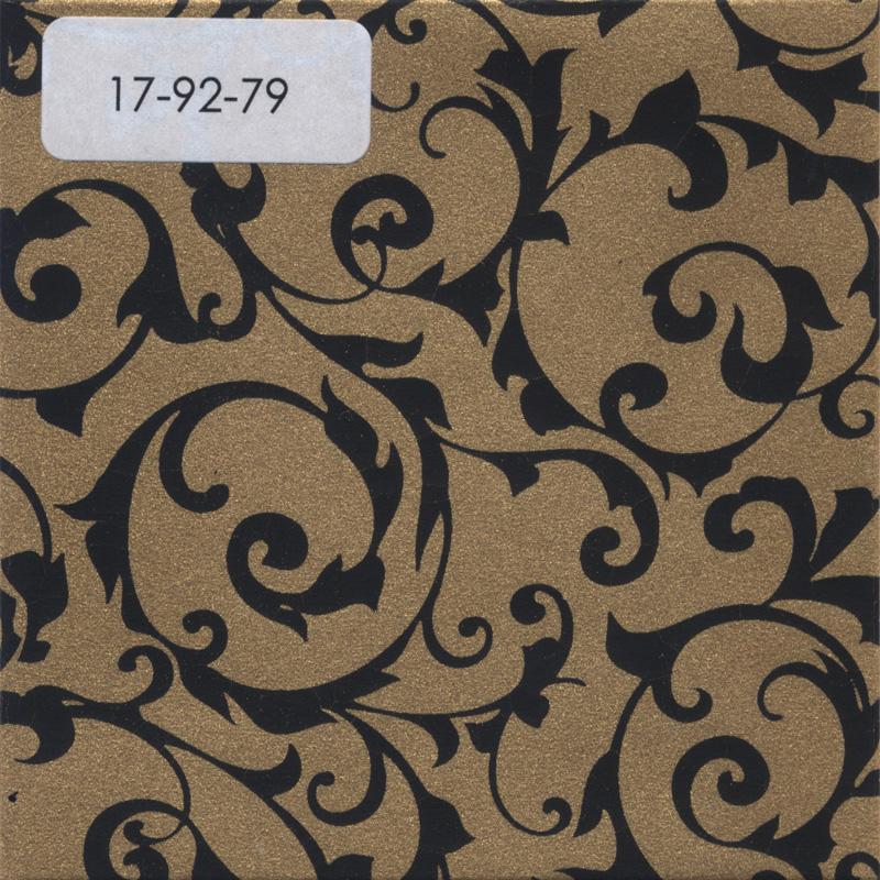 Verzierwachspl., 200x100x0,5, Geprägt, Nr. 17-92-79, dukateng.-schwarz