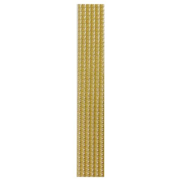 10 Perlstreifen, SB Pack, gold, 250x3mm