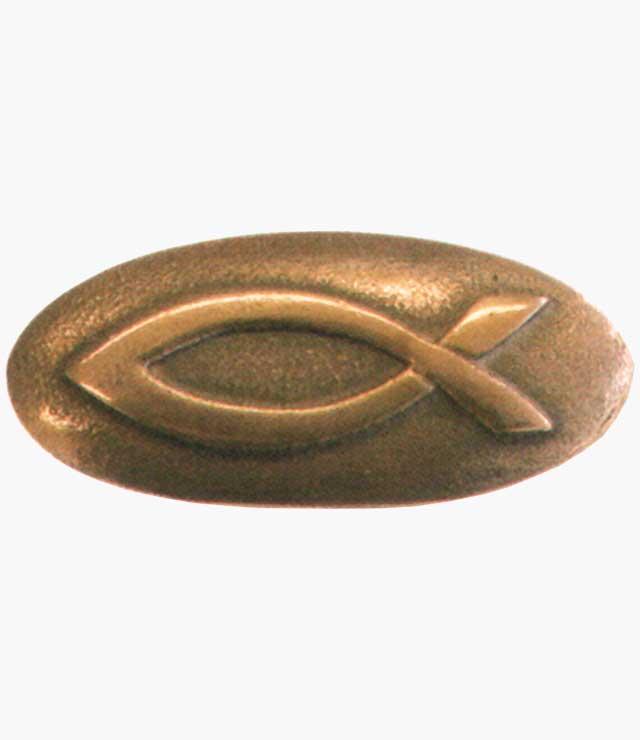 Handschmeichler, Fisch, Nr. 1187442, Bronze, mit Karton, Höhe 4cm