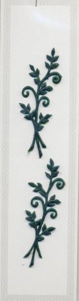 Zweige klein, dunkelgrün, 80x30