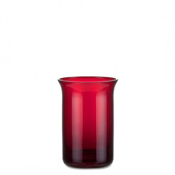 Aeterna Ewiglicht-Glas, ausgestellt, 11 cm, rubin