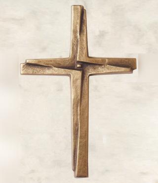 Bronzekreuz, 563/16, 16x11cm