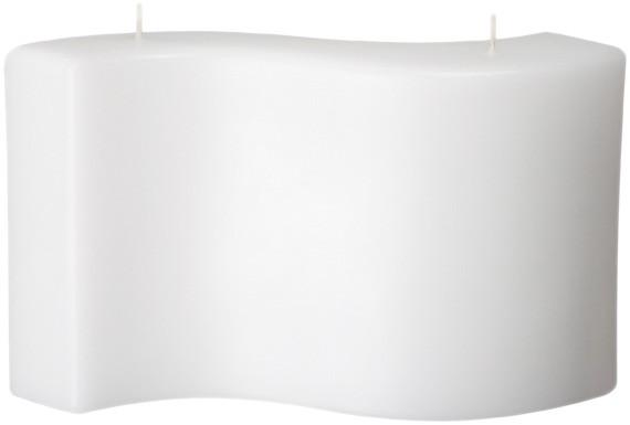 Form 13520, Welle, 150 x 260 x 45 mm, weiß getaucht