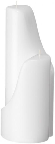 Form 13523, Ying Yang groß+klein, 270 x 100 + 170 x 100 mm, weiß getaucht