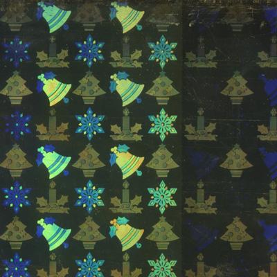Verzierwachsplatte, Nr. 0118/24, Holografisch, 200 x 100 x 0,5 mm