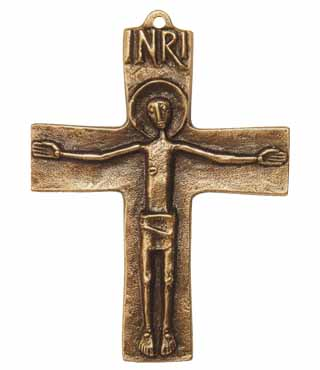 Bronzekreuz, 190, Corpus, h=10cm