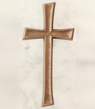 Bronzekreuz, 002/12, 12x5,5cm