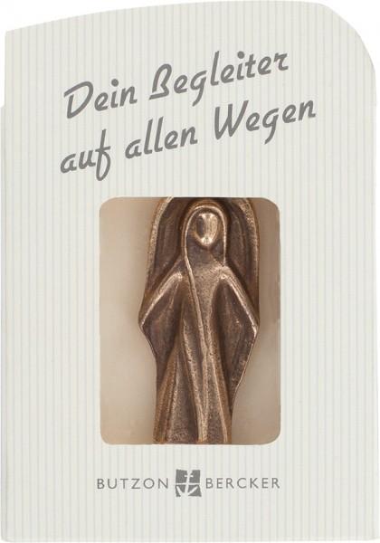Schutzengel aus Bronze, 1187262, Höhe 5,5cm, kleiner Karton