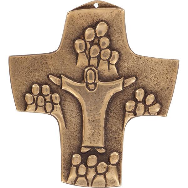 Bronzekreuz 142195, h=10,5cm, Gemeinschaft
