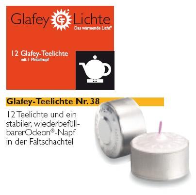 12 Glafey, Teelichter, Nr. 38, gegossen, mit einem Napf