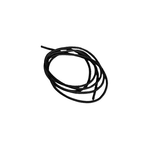 Lederband mit Öse, 100 cm, schwarz