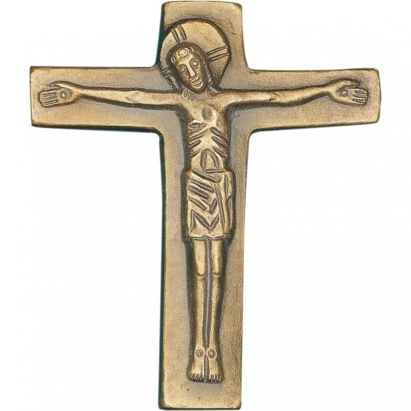 Bronzekreuz, 800828, Kreuz mit Korpus, 13x11cm