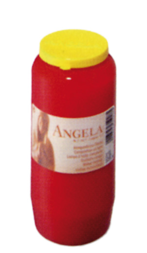 24 Grablichter, Bolsius Kompositions-Öllicht, Angela Nr. 7, rot