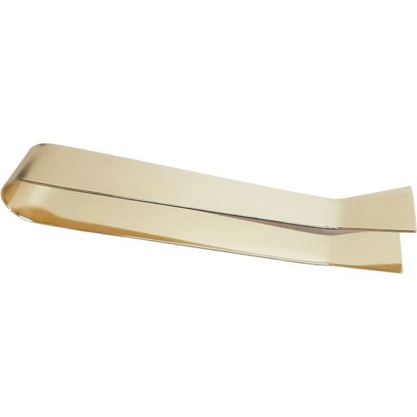 Hostienzange, Messing poliert, Länge 15 cm, Breite 2,2 cm