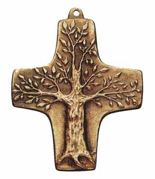Bronzekreuz, 139, Lebensbaum, h=10cm
