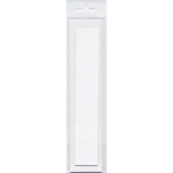 20 Rundstreifen, SB Pack, weiß, 250x2mm