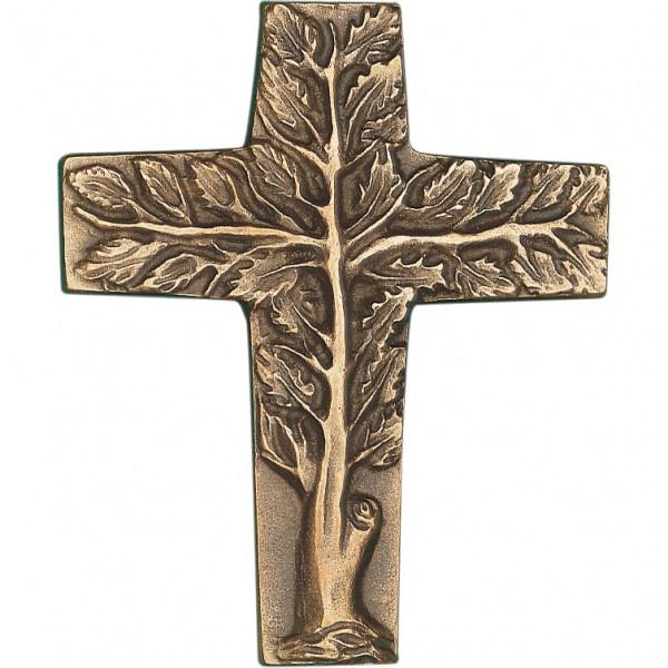 Bronzekreuz, 800923, Lebensbaum, 9x7,5cm