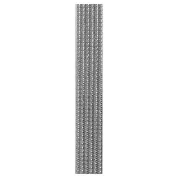 10 Perlstreifen, SB Pack, silber, 250x3mm