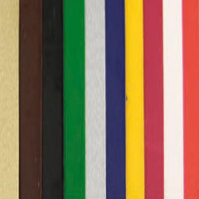 10 Verzierwachsplatten, Farben sortiert, 200 x 100 x 0,5 mm