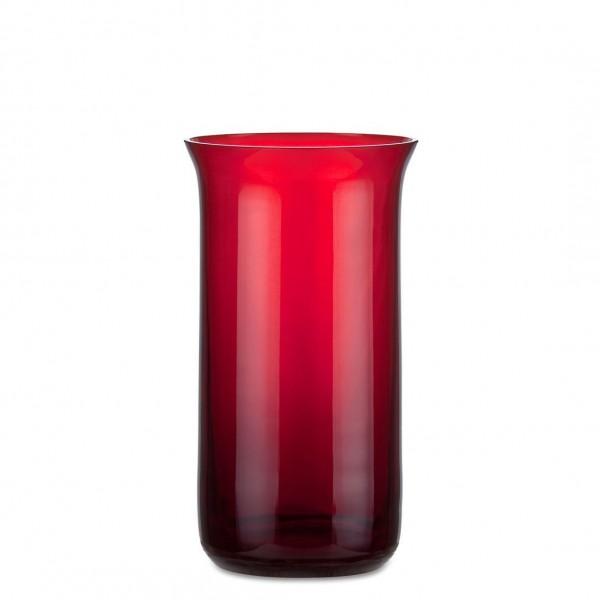 Aeterna Ewiglicht-Glas, ausgestellt, 16 cm, rubin