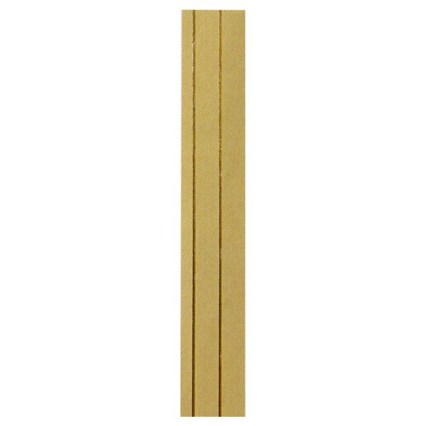 7 Flachstreifen, SB Pack, gold, 220x7mm