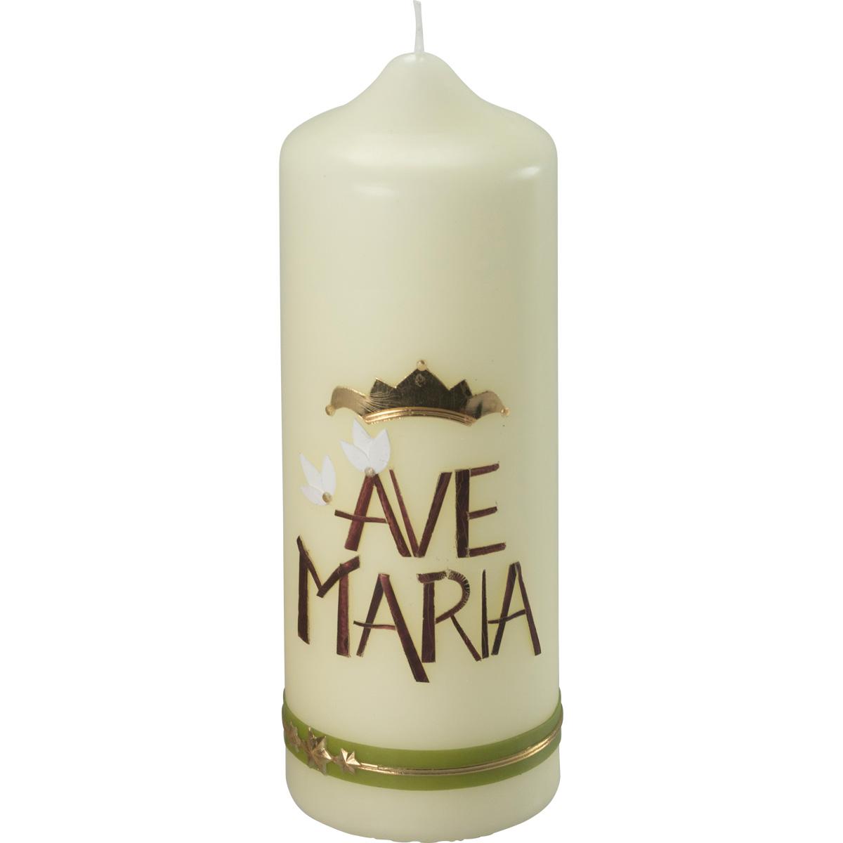 Marienkerze, #441, 230x80, Ave Maria