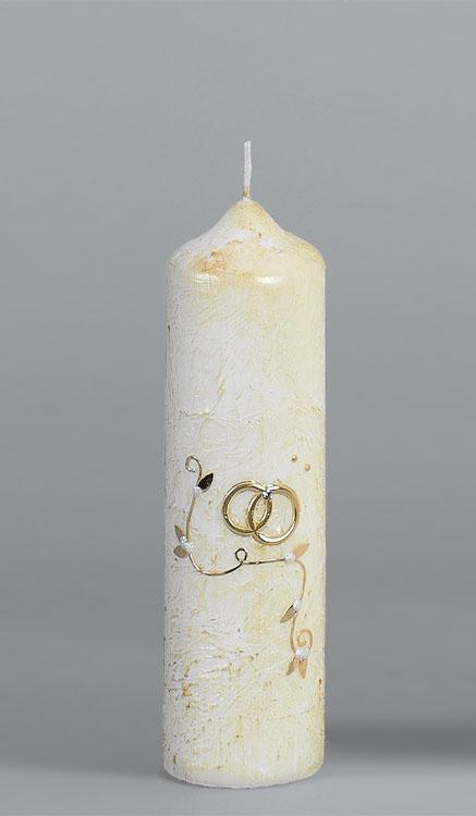 Goldene-Hochzeitskerze, 960, 220x60, ---Abverkauf---