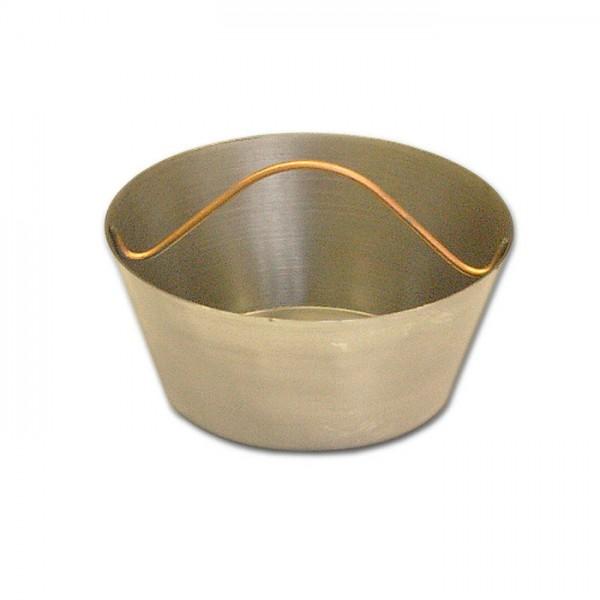 Glutpfanne/Kohlepfännchen, Eisen geschmiedet, D=10cm