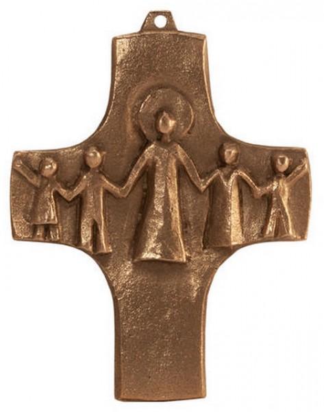 Bronzekreuz, 802046, Gemeinschaft, 8x7cm