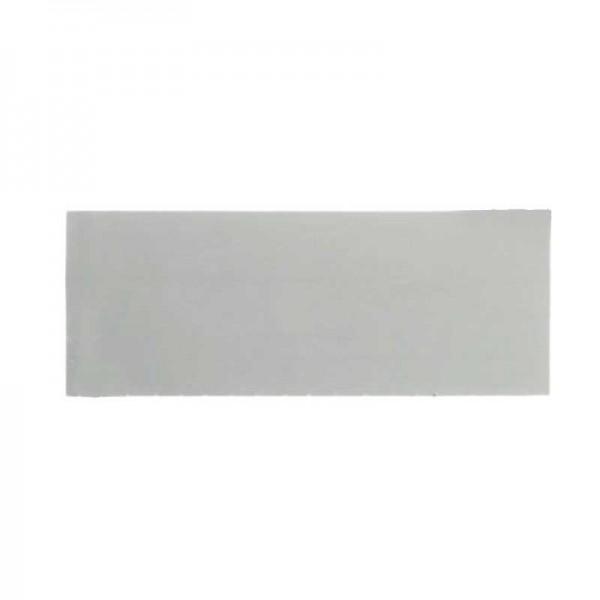 Schreibfolie, silber, 100x40mm