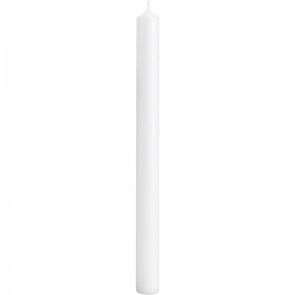 Altarkerze, 500x40Ø, DL60x12, weiß