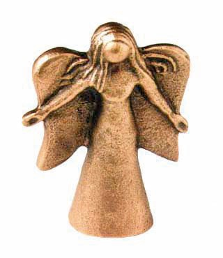 Bronze-Engel, E12, Höhe=7,5cm