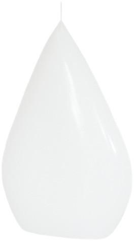 Form 14105, Flachtropfen, 200 x 130 x 55 mm, weiß getaucht