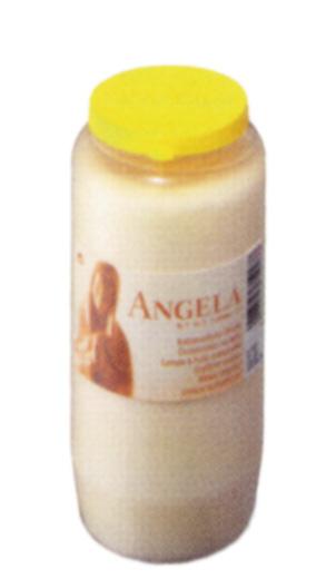 24 Grablichter, Bolsius Kompositions-Öllicht, Angela Nr. 7, weiß