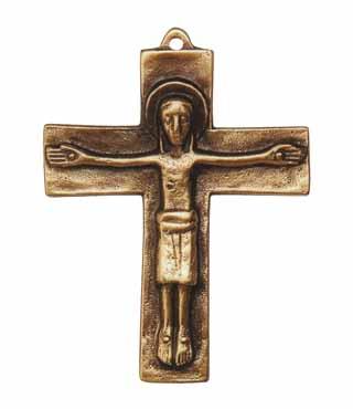 Bronzekreuz, 105, Corpus, h=9,5cm