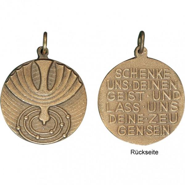 Firmanhänger, 800795, Ø3,5cm, Rückseitentext: Schenke uns den Geist...