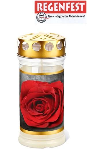 12 Grablichter, Memoriam Nr.417, ~ 4 Tage, Rose-Gold, mit Deckel