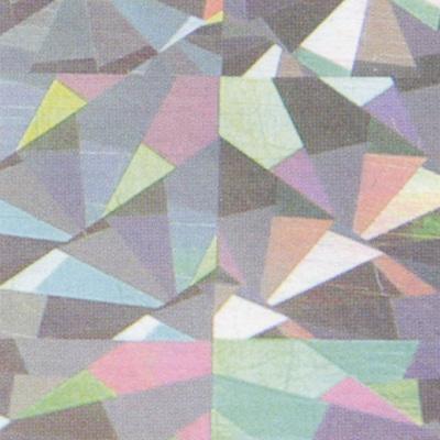 Verzierwachsplatte, Nr. 0708/08, Holografisch, 200 x 100 x 0,5 mm